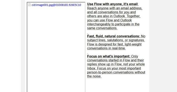 Microsoft trabaja en Flow, una app de mensajería