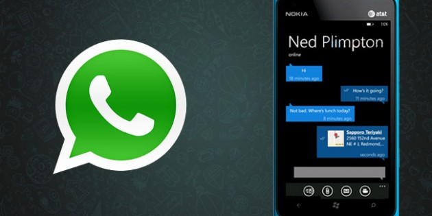 Las llamadas de voz de WhatsApp llegan a Windows Phone
