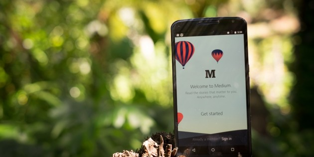 Medium sale de su jaula en Android