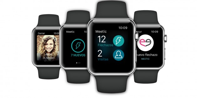 Meetic llega al Apple Watch