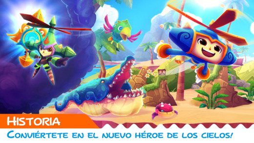 Tras cinco años, Sega lanza Heroki para iPhone e iPad