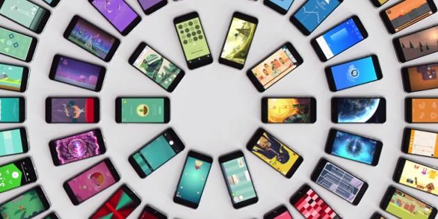 En 2017 hubo 175.000 millones de descargas de apps