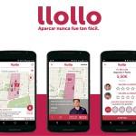 Llollo, una app para que aparquen por ti