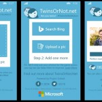 Microsoft lanza una app de TwinsOrNot para Windows Phone