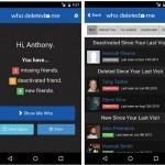 Una app para saber quién te eliminó en Facebook