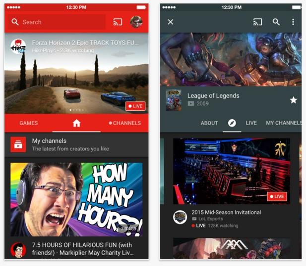 youtube-gaming-app-ios
