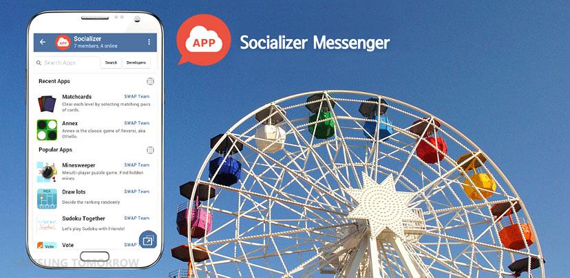Socializer-messenger-samsung-app