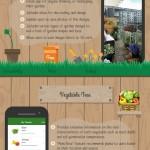 Infografía: Apps imprescindibles para los amantes de la jardinería