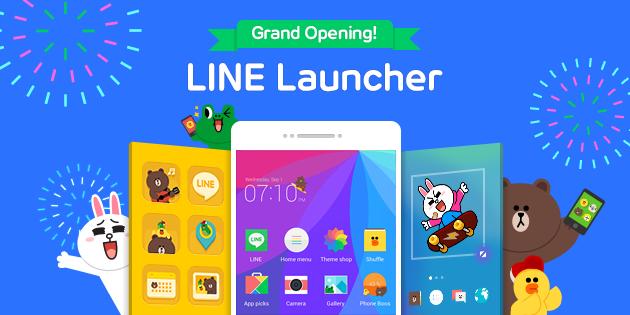 Line lanza un launcher para Android