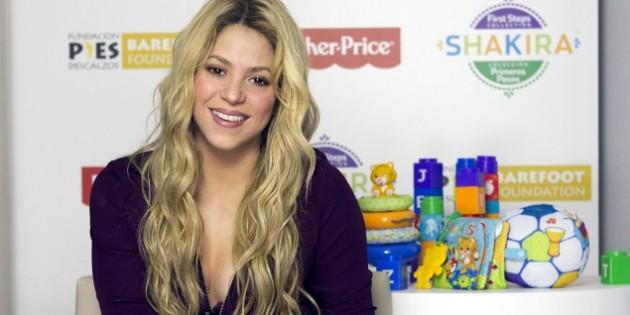 Shakira lanzará una app con consejos para padres