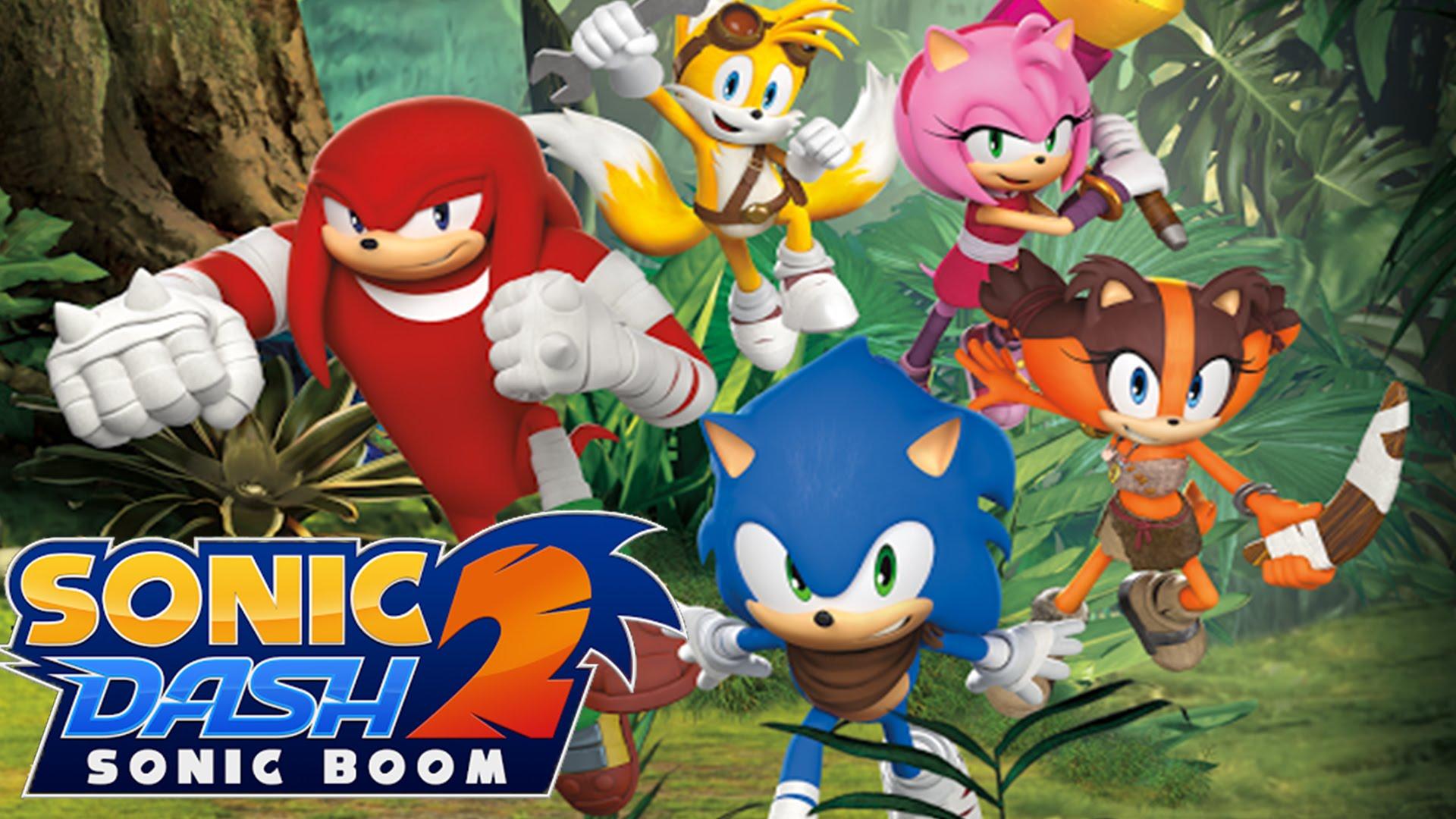sonic boom игры