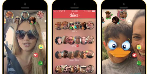 Chime te permite enviar y recibir vídeo mensajes de 20 segundos
