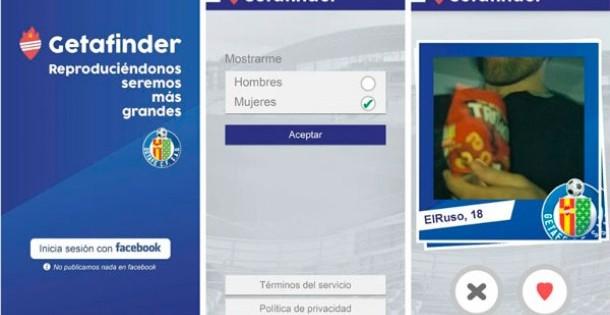 El Getafe crea una app para ligar entre aficionados