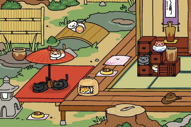 neko-atsume-juego-gatos