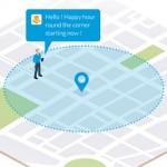 GoodBarber incluye el envío de notificaciones geolocalizadas