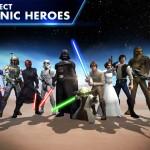 Star Wars: Galaxy of Heroes aterriza en las tiendas de aplicaciones