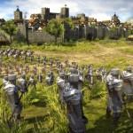 Lucha con otras casas y reinos en Total War Battles: Kingdom