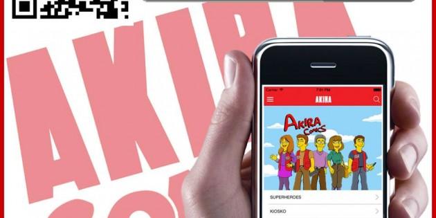 Akira Comics estrena app móvil