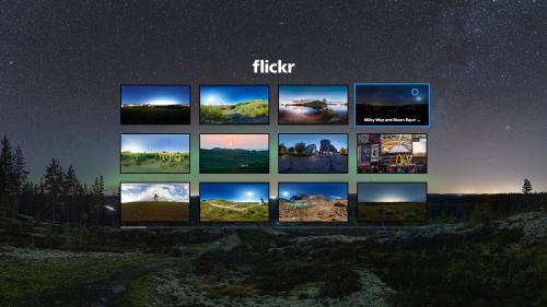 Flickr lanza una app para las Samsung Gear VR