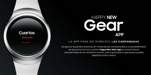 Happy New Gear App, la aplicación de Samsung para recibir el Año Nuevo