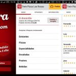 Los españoles, terceros en Europa en utilizar apps para pedir comida