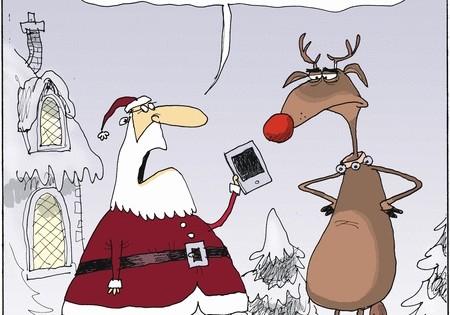 Cómic: Una app para reemplazar a Rudolph