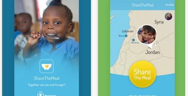 ShareTheMeal, una app para compartir el turrón con los niños sirios
