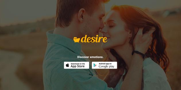 """""""Desire también permite generar retos para otras parejas"""""""