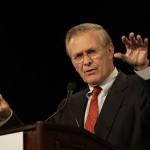 Donald Rumsfeld lanza su propio juego móvil