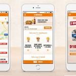 La app de Burger King se renueva con pedidos a domicilio