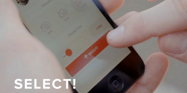 Shootlr, la app con la que puedes pedir un selfie a tus amigos