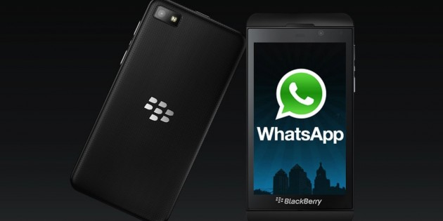 WhatsApp dice adiós a BlackBerry
