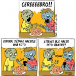 Cómic: Zombies foodies