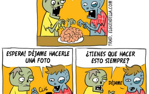 Cómic: Zombies foodies