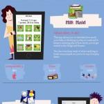Infografía: Las mejores apps para padres primerizos