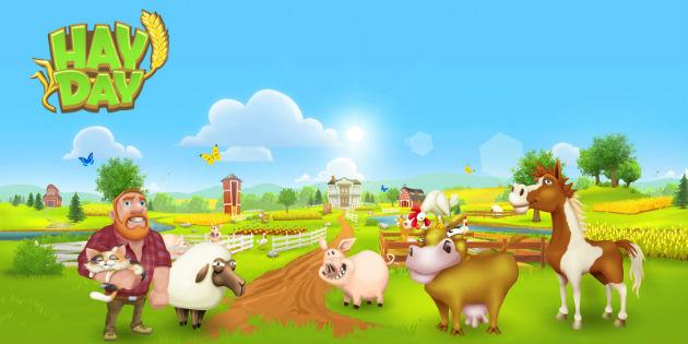 Conviértete en granjero en Hay Day