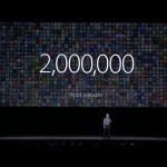 La App Store supera los 2 millones de aplicaciones