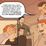 Las reglas de la App Store, convertidas en un cómic
