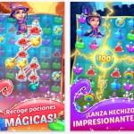 Hocus Puzzle, un juego que se parece a Bubble Witch Saga por arte de magia