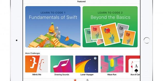 Swift Playgrounds, ya disponible en la App Store
