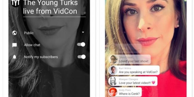 La app de YouTube incorporará un botón para emitir vídeo en directo