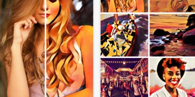 Prisma, una app que convierte tus selfies en obras de arte