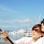 El palo selfie definitivo: acuático y con control remoto por bluetooth