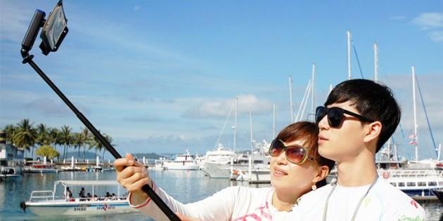 Palo selfie con bluetooth waterproof 3