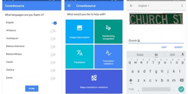 Crowdsource, la app con la que ayudarás a Google a mejorar sus servicios