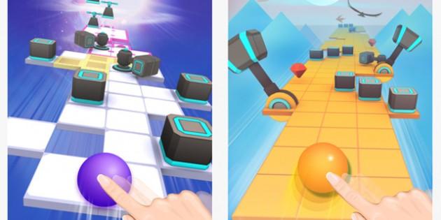 Rolling Sky, un juego para que no se te vaya la bola