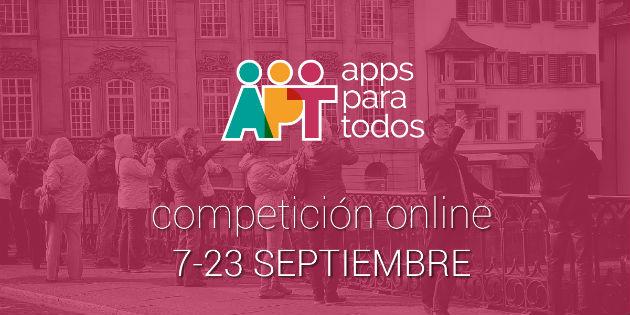 Todos a participar en el concurso Apps para todos