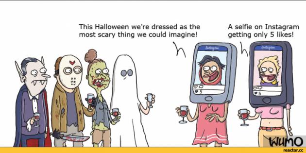 Cómic: Lo que más miedo da en Instagram