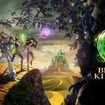 Lucha junto al Hombre de Hojalata, el León y el Espantapájaros en Oz: Broken Kingdom