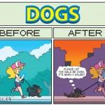 Cómic: Cómo es pasear a tu perro después de Pokémon Go